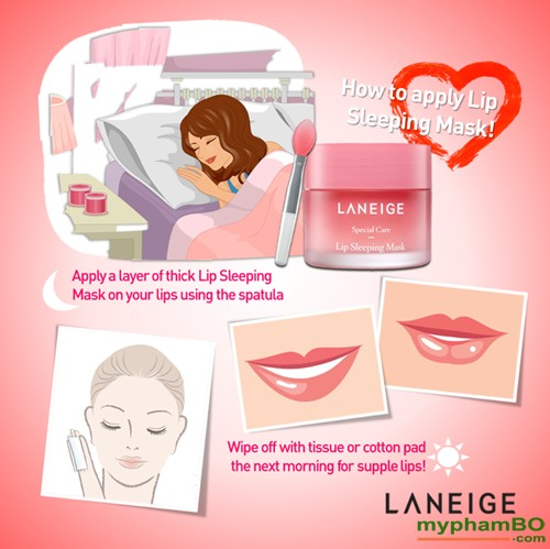 Sample Mat Na Ngu Cho Moi Laneige Lip Sleeping Mask 3g (3)