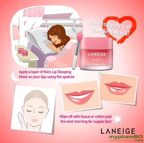 Sample Mat Na Ngu Cho Moi Laneige Lip Sleeping Mask 3g (3)
