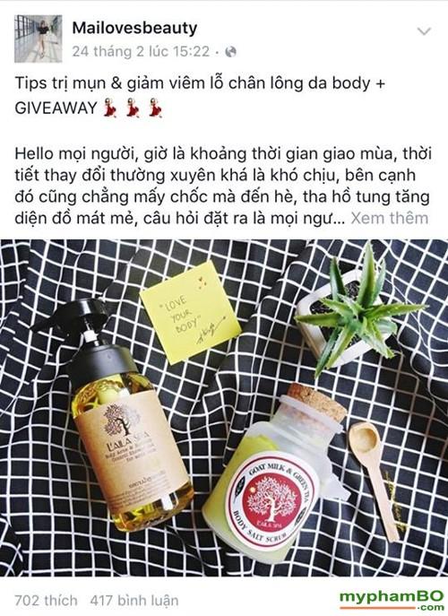 Sua tam dac tri mun lung laila spa - Thai Lan la body acne blemish 1 (5)