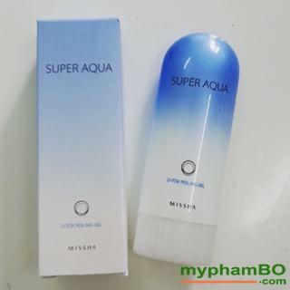 Tay da chet Missha Super Aqua D-tox Peeling Gel 1 (1)