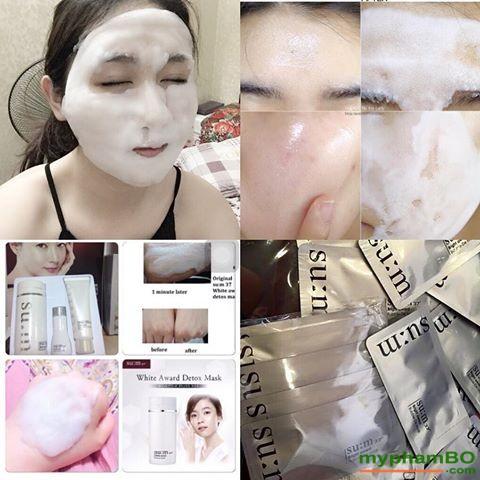 Mat na thai doc Sum 37 White Award Bubble-De Mask 2ml (2)