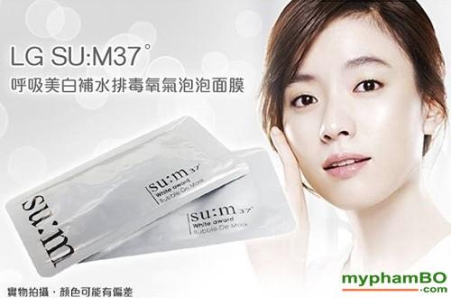 Mat na thai doc Sum 37 White Award Bubble-De Mask 2ml (5)