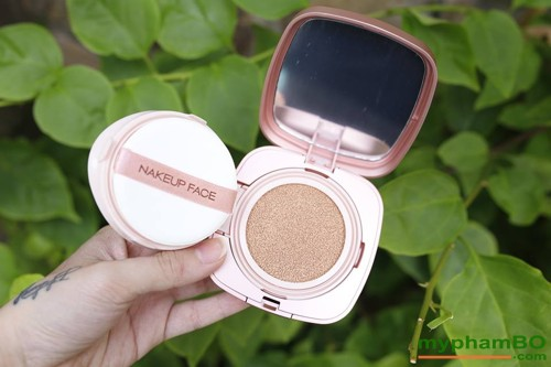 Phan nuoc Nakeup Face vo hong - Coverking Powder Cushion (4)
