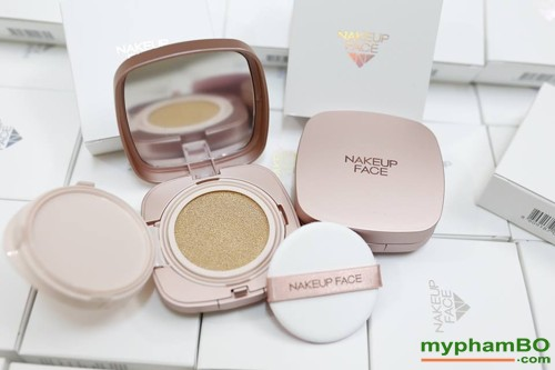 Phan nuoc Nakeup Face vo hong - Coverking Powder Cushion (5)