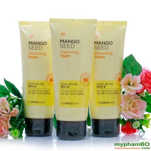 sua-rua-mat-tu-xoai-mango-seed-cleansing-foam-100ml-the-face-shop-2