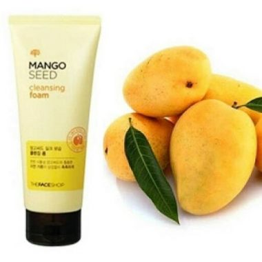 Sua-rua-mat-tu-xoai-Mango-Seed-Cleansing-Foam-100ml-The-face-shop-1