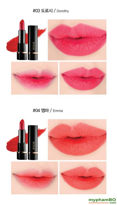 son-thoi-ecole-shine-black-lipstick-9