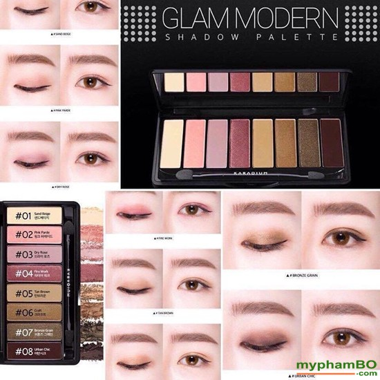 Bng phn mt Karadium Glam Modern Shadow Palette (2)