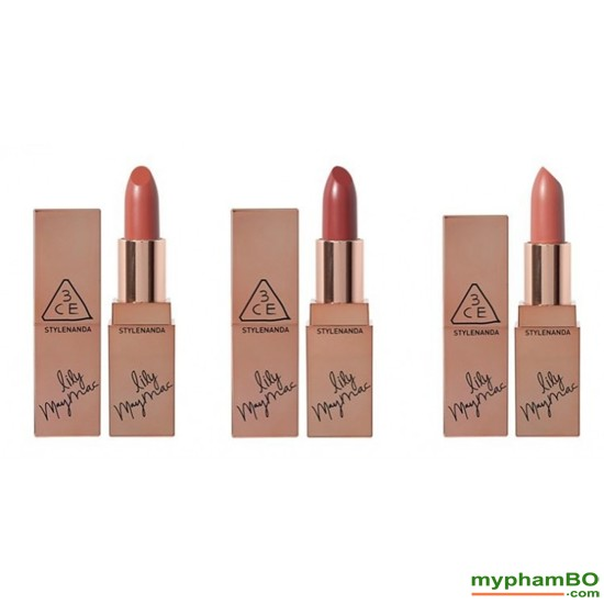 Son thi 3CE Lily MayMac Matte Lip Color111 (3)
