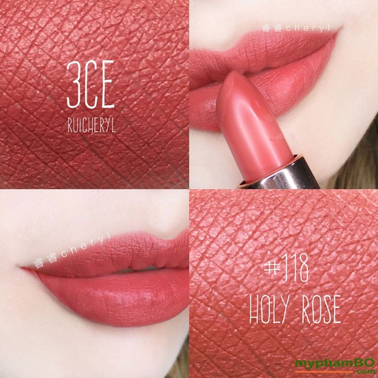Son thi 3CE Lily MayMac Matte Lip Color111 (7)