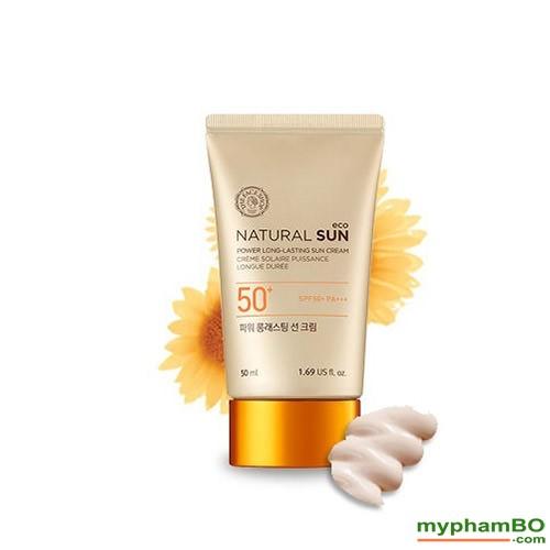 Kem chng nng Natural Sun Eco Power Long Lasting Sun Cream SPF50+ PA+++ (1)(1)