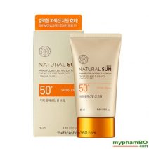 Kem chng nng Natural Sun Eco Power Long Lasting Sun Cream SPF50+ PA+++ (4)