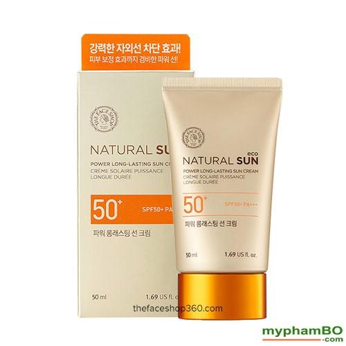 Kem chng nng Natural Sun Eco Power Long Lasting Sun Cream SPF50+ PA+++ (4)