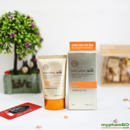 Kem chng nng Natural Sun Eco Power Long Lasting Sun Cream SPF50+ PA+++ (7)