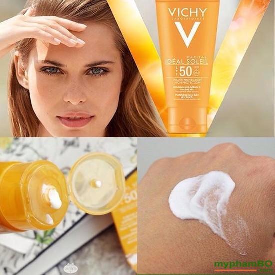 Kem chng nng Vichy Ideal Soleil SPF50+ Phop (4)