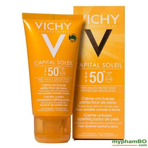 Kem chng nng Vichy Ideal Soleil SPF50+ Phop (5)