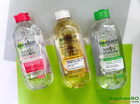 Nuc Ty Trang Garnier Micellar Cleansing Water 400ml Phop (6)