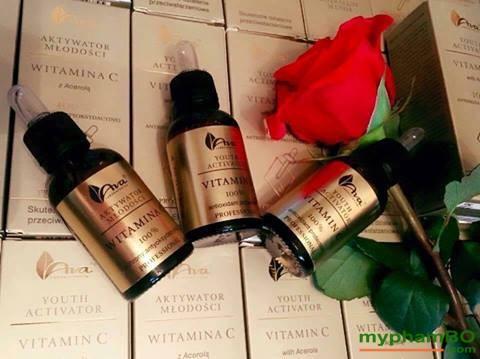 Serum Vitamin C trng da, tr thom nom Ava Youth Activation (6)