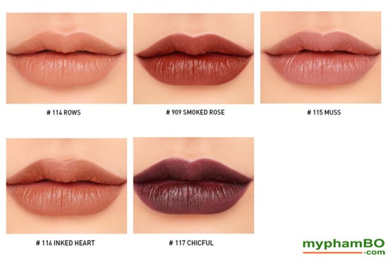 Son lo 3CE Mood Recipe Matte Lip Color (7)