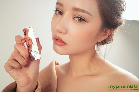 Son thi 3CE Lily MayMac 908 - Matte Lip Color Màu Warm & Sweet (6)