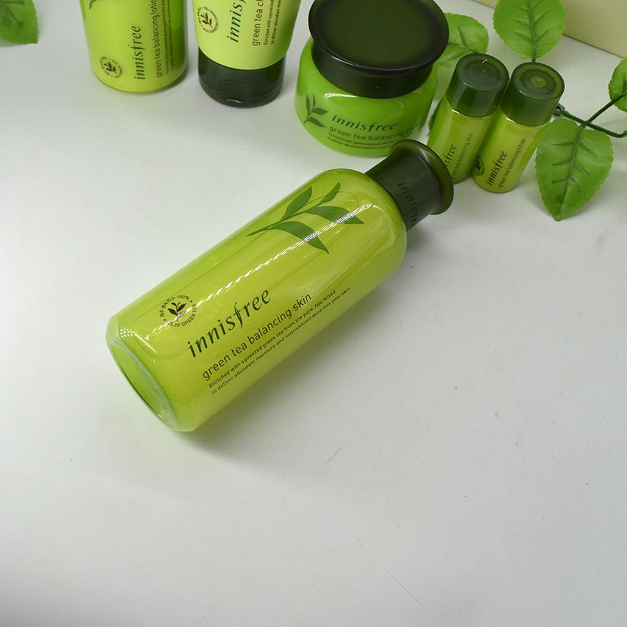 Bộ dưỡng trà xanh Innisfree Green Tea Balancing Special Skin Care Set 6in1 (14)