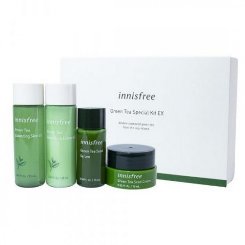 Bo duong da tra xanh mini Innisfree Green Tea Special Kit 4 in 1 (3)