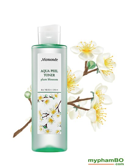 Nuoc hoa hong Mamode Aqua Peel Toner Plum Blossom (3)