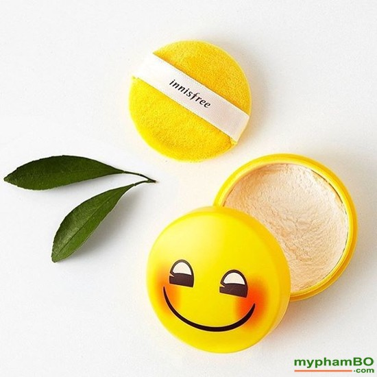 Phn Ph Kim Du Innisfree No Sebum Emoji - Hàn quc - Mineral Powder Emoji Limited Edition (1)