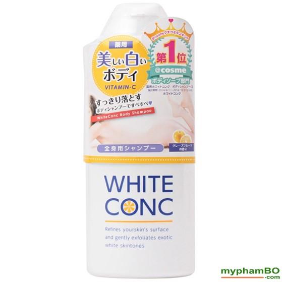 Sua tam trang toan than White Conc - Nhat Ban (2)
