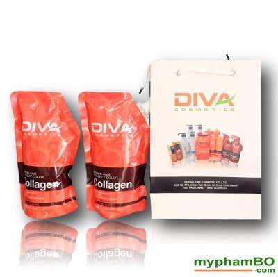 Tyi hp phc hi diva collagen repair 500ml - Italy (5)