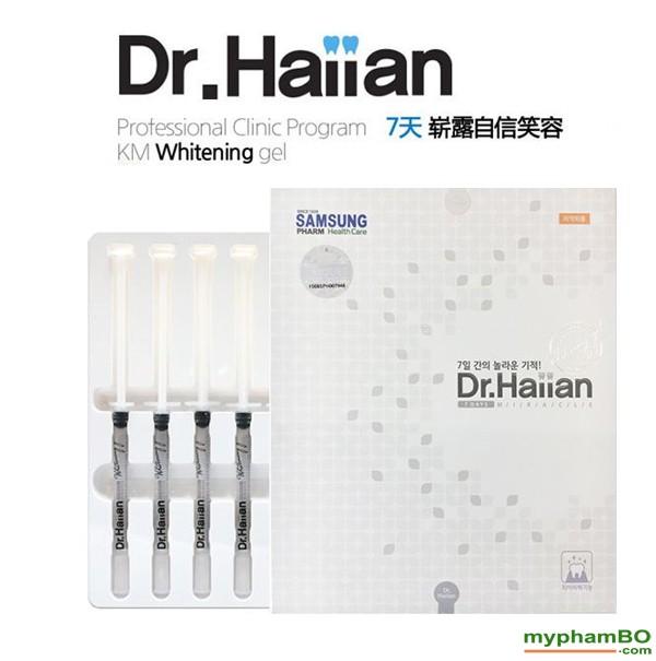 Gel lam trang rang 7 ngay Dr Haiian Professional Clinic Program (3)