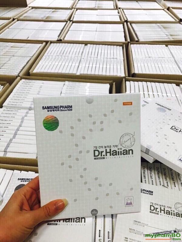 Gel lam trang rang 7 ngay Dr Haiian Professional Clinic Program (6)