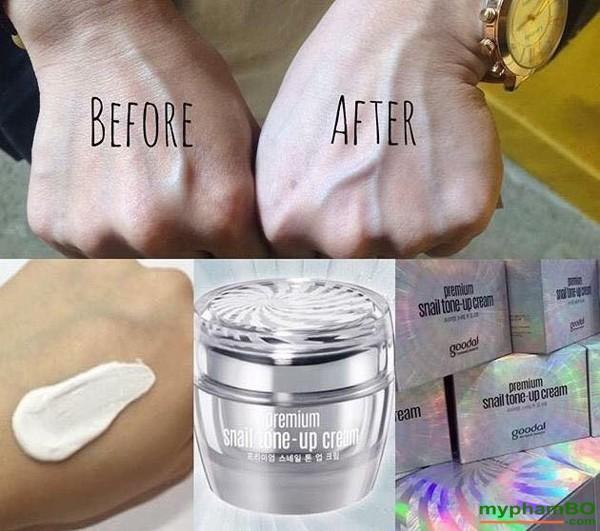 Kem Duong Da Cao Cap Oc Sen Goodal Premium Snail Tone Up Cream (7)