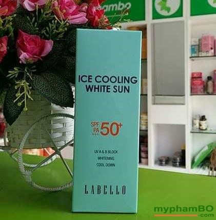 Kem chng nng ICE COOLING chng loo hua - Hàn quc (3)
