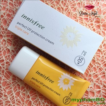 Kem chng nng Innisfree perfect uv protection cream Triple Care (2)