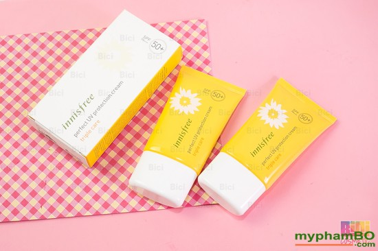 Kem chng nng Innisfree perfect uv protection cream Triple Care (3)