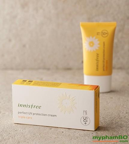 Kem chng nng Innisfree perfect uv protection cream Triple Care (5)