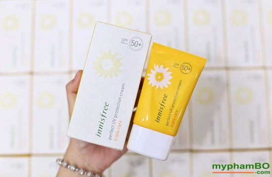 Kem chng nng Innisfree perfect uv protection cream Triple Care (6)