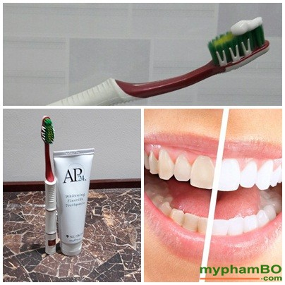 Kem donh rang trng song AP24 Whiteing Flouride Toothpaste (2)
