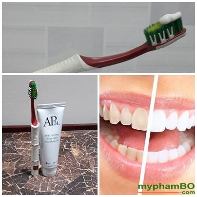 Kem donh rang trng song AP24 Whiteing Flouride Toothpaste (2)