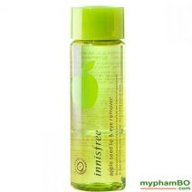Nuc Ty Trang Mt Và Mui Innisfree Apple Seed Lip & Eye Remover (1)