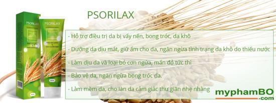 Psorilax - ec tr bnh vy nn, viom da co da hiu qu (1)(2)