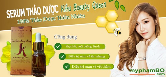 Serum Tho Duc Kiu Beauty Queen - Dung Trng, Tr Mn, Tr Nom (6)