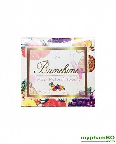 Xà phung tm trng Thoi Lan Bumebime Mask Natural Soap (1)