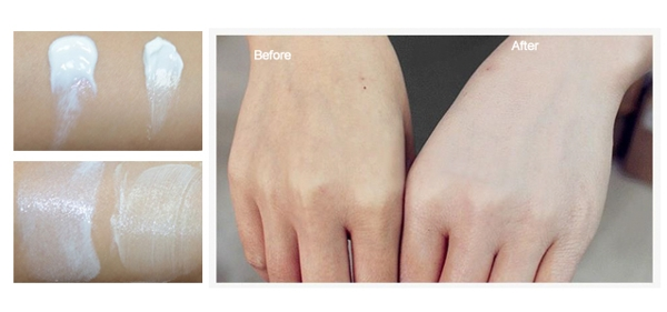 Kem kich trang white body all skin SPF 50+ Han Quoc (3)