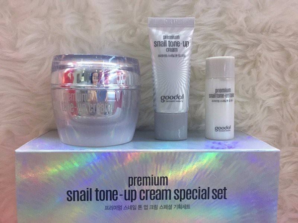 Set Oc Sen Goodal Premium Snail Tone Up Cream Special Set - Han quoc (7)