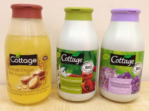 Sua tam cottage phap 250ml - Tinh dau argan oil (3)