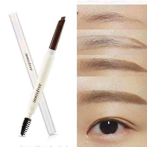 Chi Ke May Innisfree Auto Eyebrow Pencil - Han quoc (4)