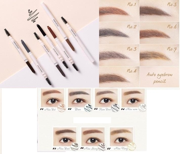 Chi Ke May Innisfree Auto Eyebrow Pencil - Han quoc (7)