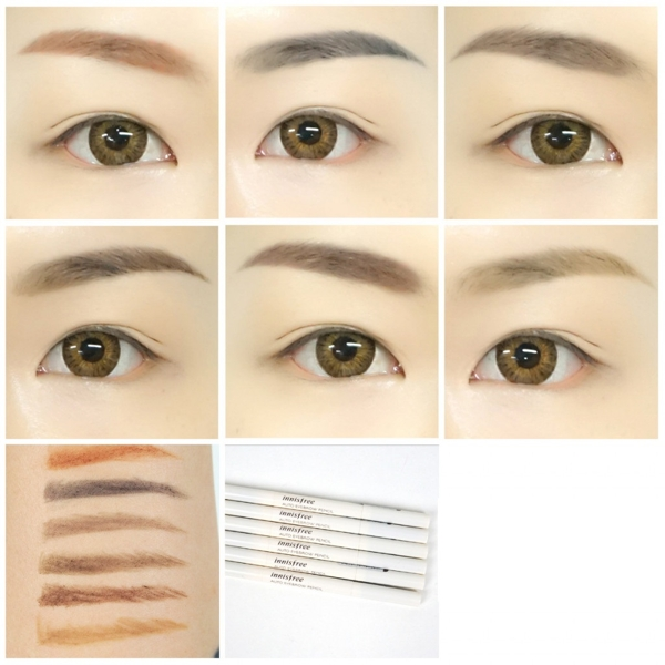 Chi Ke May Innisfree Auto Eyebrow Pencil - Han quoc (9)